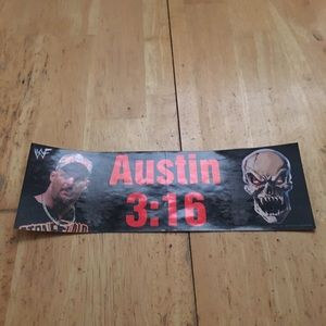 Austin 3:16 bumper decal